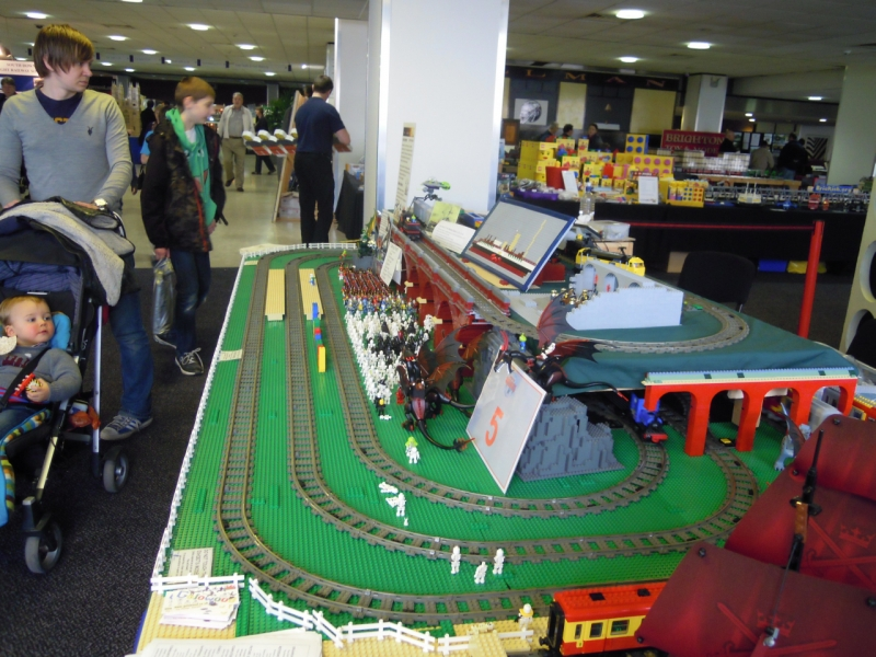 Side view of layout from today (Friday)