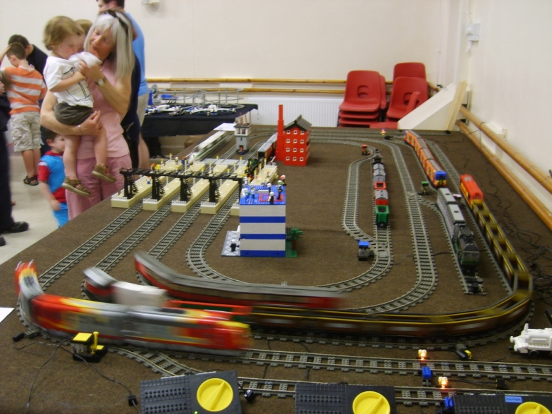 Main train layout