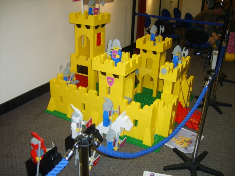 The 6x scale Lego castle