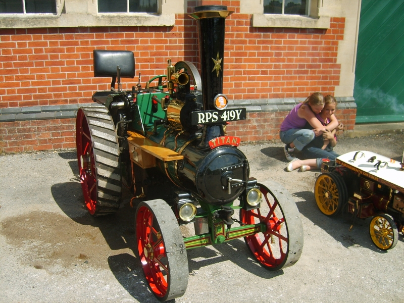 One of the many traction engines there at the event