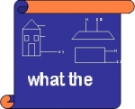 'What the' logo