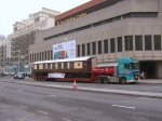 The Brighton Centre last year. The coach in front is from the Bluebell Railway.
