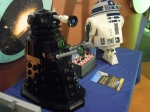 Daleks and R2D2.