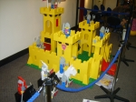 The 6x scale Lego castle.