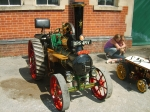 One of the many traction engines there at the event.